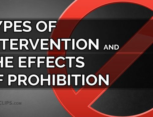 Types of interventions and the effects of prohibition